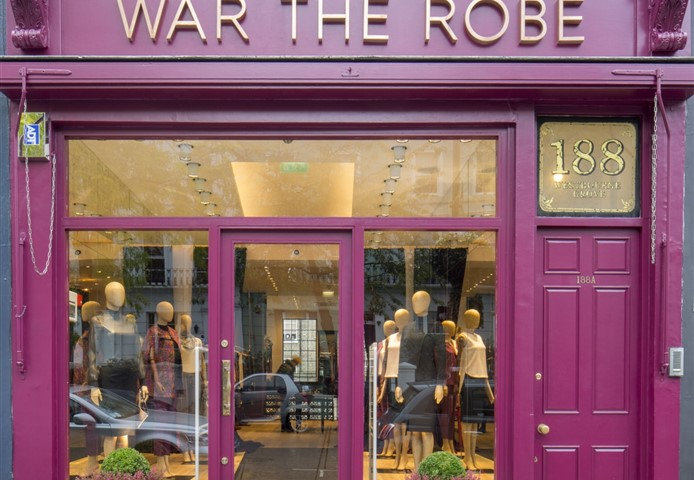 Exterior of War the Robe London