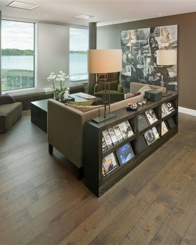 Hakwood Harmony flooring in seating area