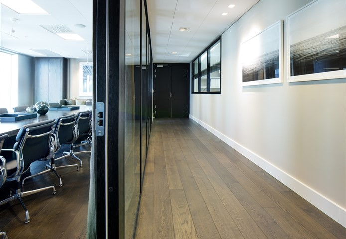 Hakwood Harmony flooring at conference room