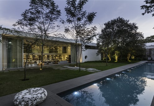 Exterior residential project Gama Issa Brazil