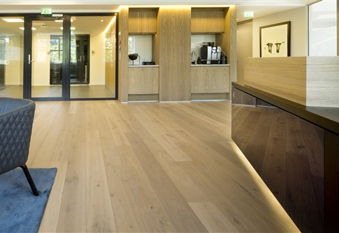 Hakwood Noble flooring in entrance hall