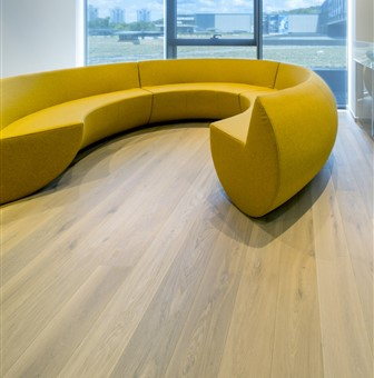 Hakwood Noble flooring with view