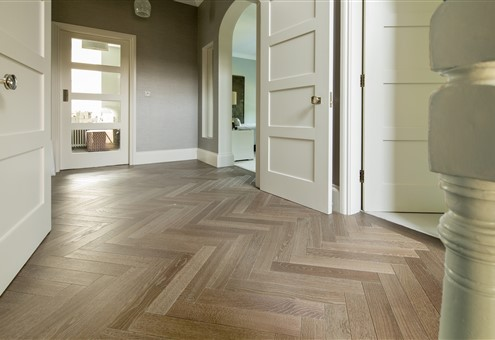 Hakwood Drift flooring in hallway