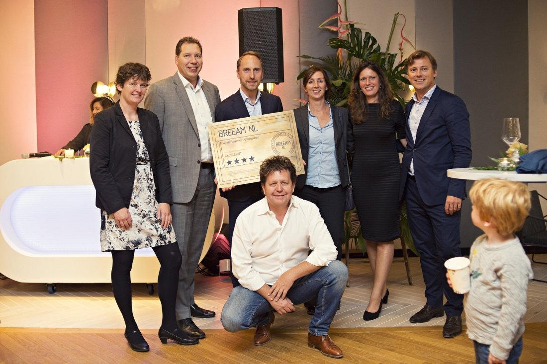 Highest Dutch BREEAM score for Hyatt Amsterdam