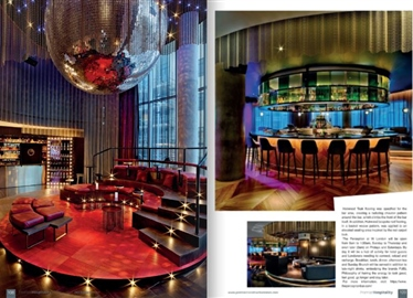 The article about the daring design of the W Hotel London in Premier Hospitality.