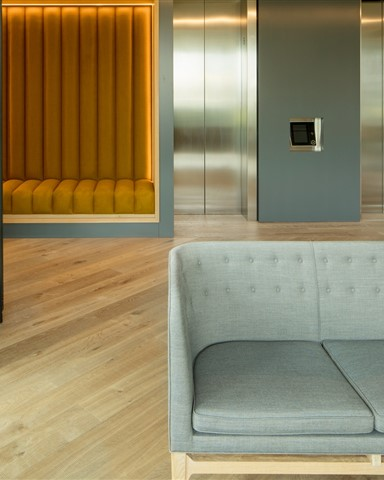 Hakwood Forza flooring at entrance hall
