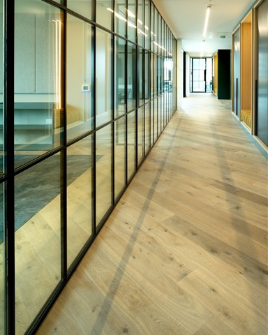 Hakwood Forza flooring in hallway