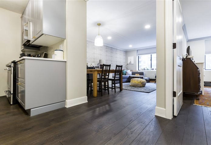 Hakwood Coco Flooring in designer apartment in New York