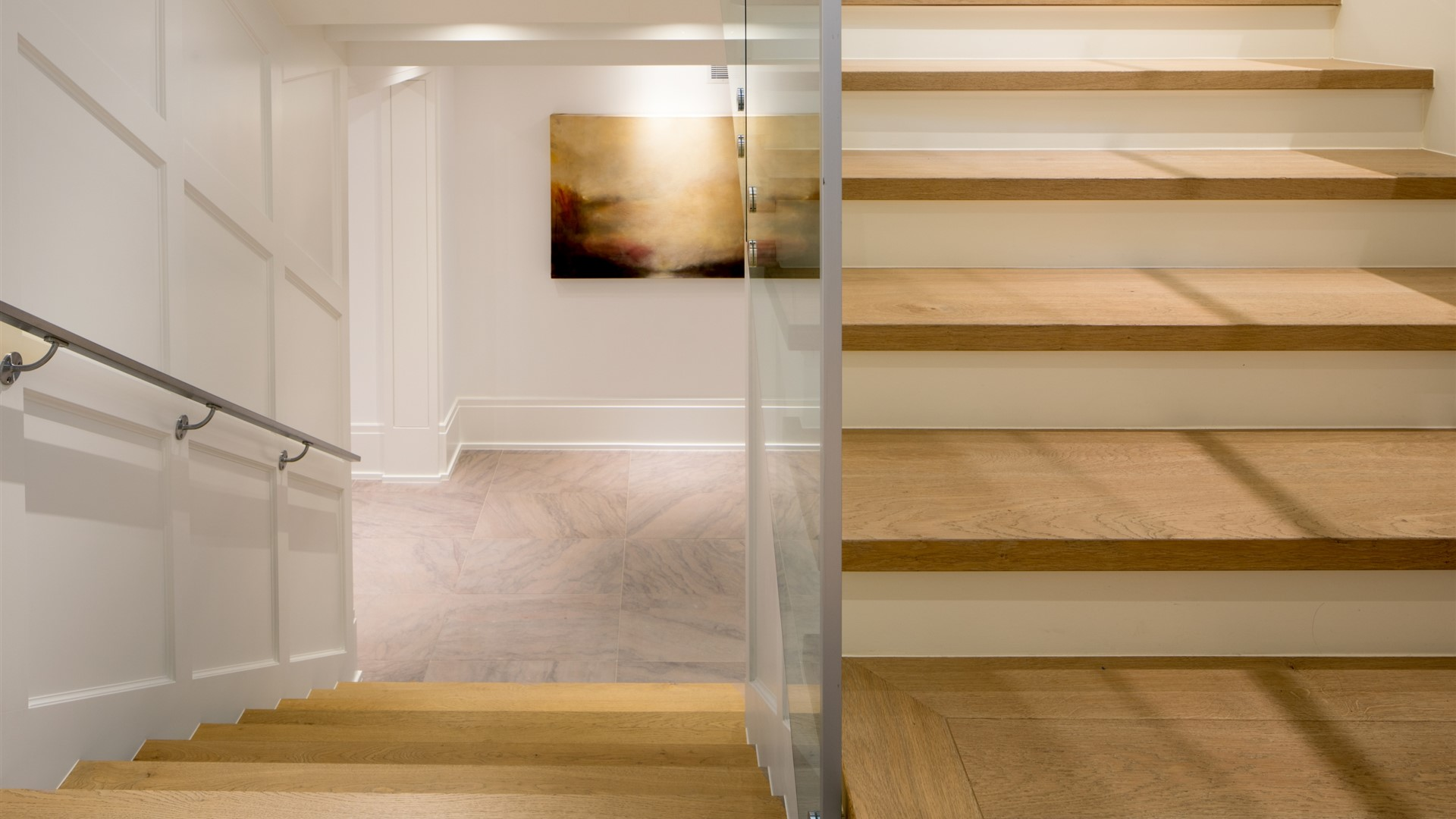 Hakwood Flourish flooring at staircase