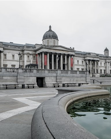 Exterior of the National Gallery