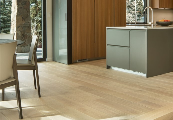 Hakwood Pure flooring in kitchen - photo credits David Marlow