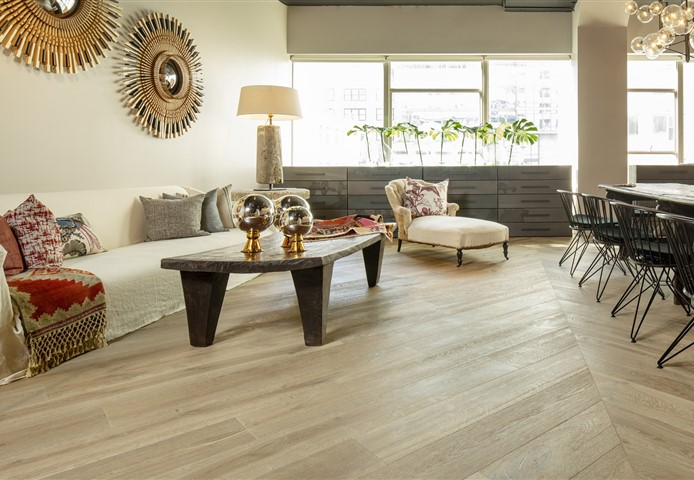 Hakwood Vista flooring at the showroom