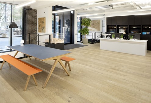 Hakwood Muse flooring at central space