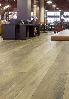 Hakwood Laren flooring with detail of furniture