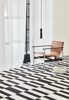 Grid Abstract - Hakwood Collection by Kelly Hoppen
