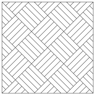 Basket weave pattern drawing new