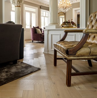 Hakwood Valor flooring with baroque chair