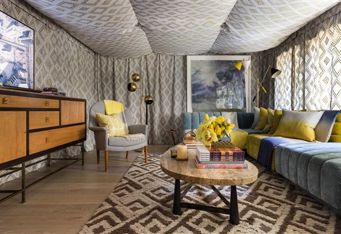 Lady Cave - Interior Design by DLC-ID (Hakwood Locke flooring)