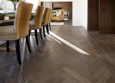 Connaught place in London contains Hakwood Harmony flooring