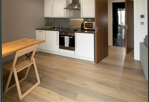 Hakwood Valor flooring in the kitchen