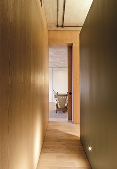 Hakwood Pure flooring in hallway