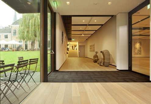 Hakwood Noble flooring at emergency door