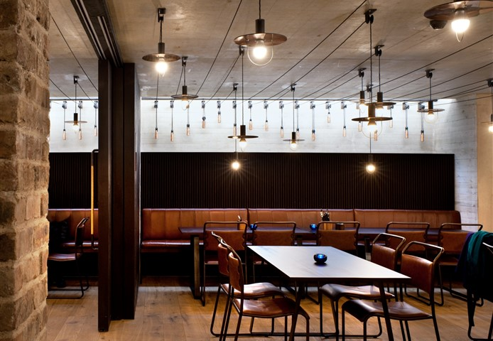 Everyman Theatre restaurant with Hakwood Savoy flooring