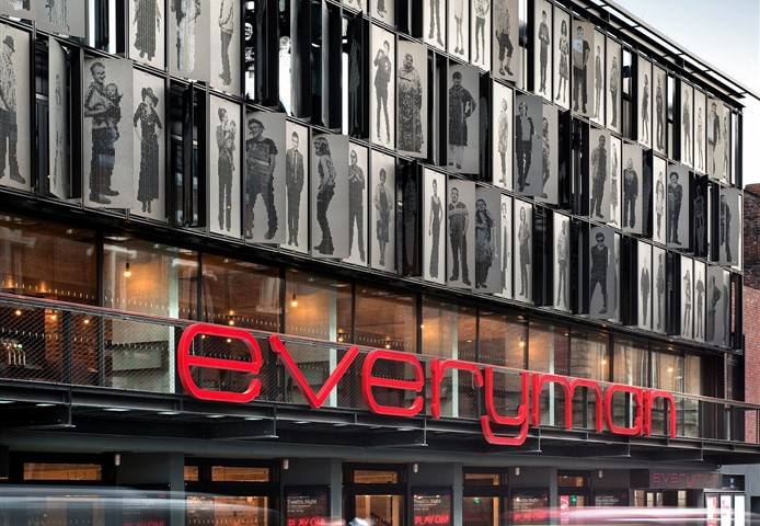Exterior of the Everyman Theatre