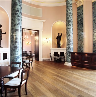 Hakwood Busoni flooring at central hall