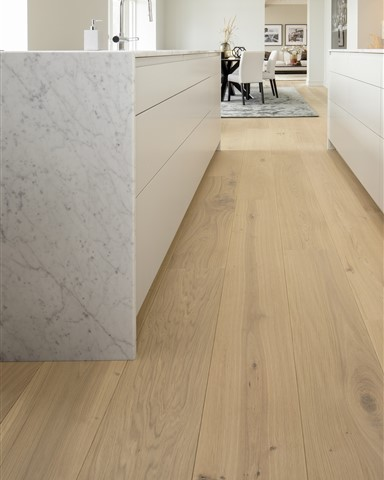 Hakwood Pure flooring in the kitchen