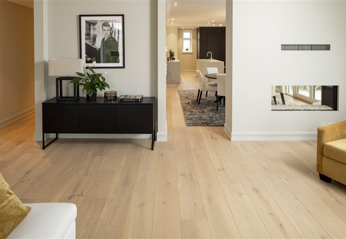 Living room contains Hakwood Pure flooring