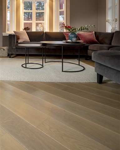 Family room contains Hakwood Valor flooring