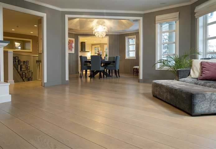 Living room contains Hakwood Valor flooring