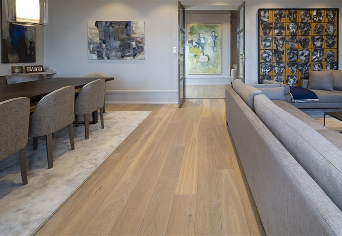 Hakwood Valor flooring in living room