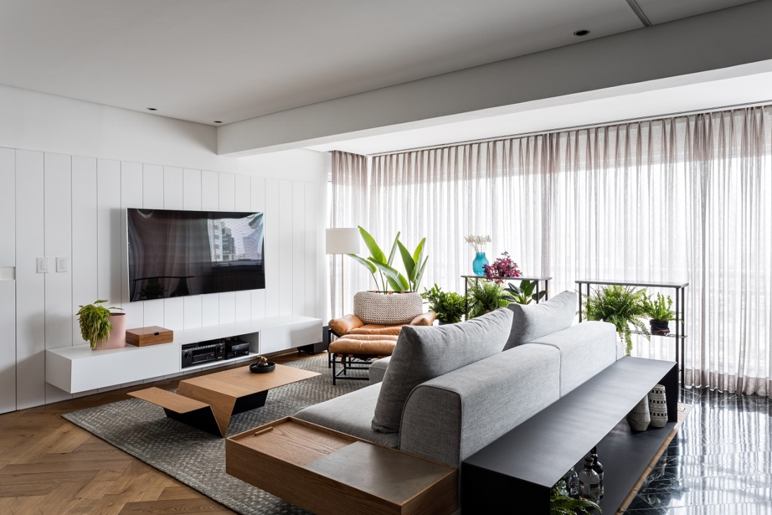 002 ORIGINAL - Modern Retro Apartment - Leblon Brazil
