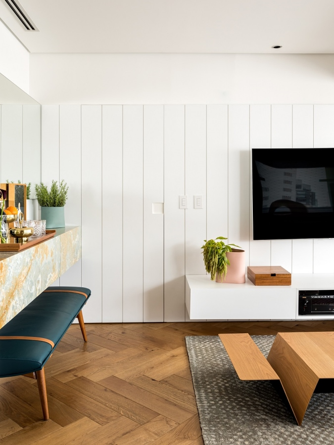 004 ORIGINAL - Modern Retro Apartment - Leblon Brazil